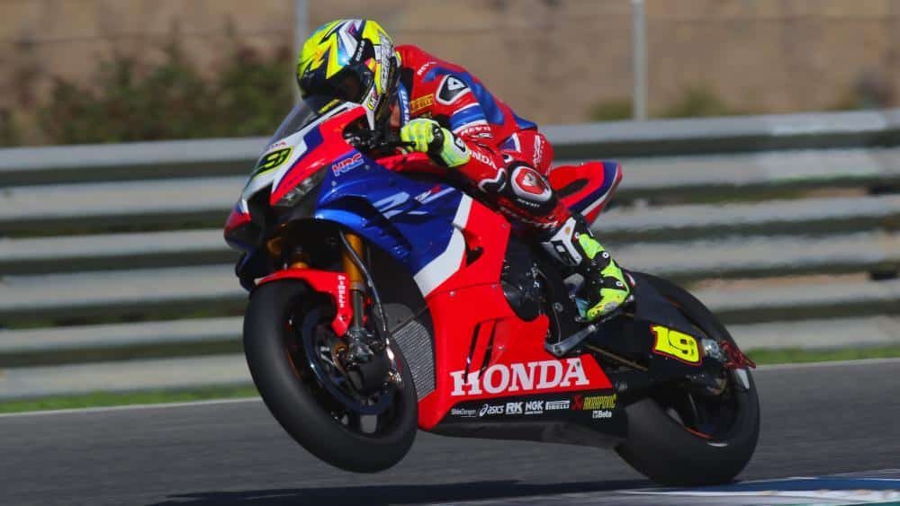 WorldSBK-test op Jerez