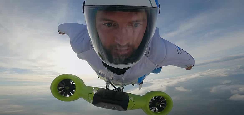 BMW wingsuit