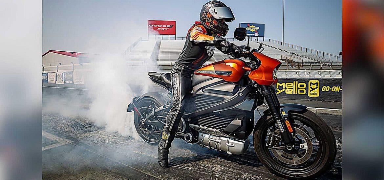 Harley-Davidson Livewire dragracen