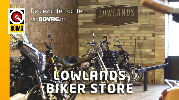 De gezichten achter viaBOVAG.nl: Lowlands Biker Store