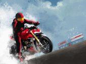 Ducati Roma kalender wordt strip over de stad