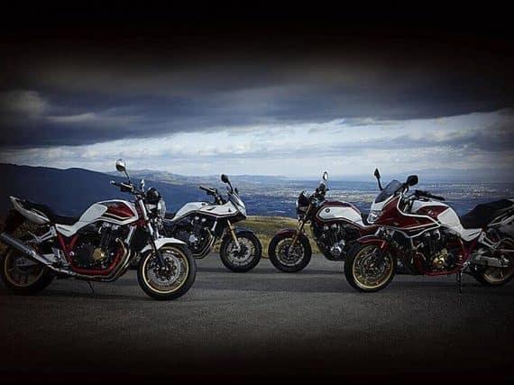 Nieuwe Honda CB1300 Super Four & Super Bol d'Or & twee SP-versies!