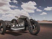 BMW Electric Sidecar-concept van Iago Valiño