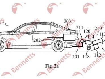 BMW: Motorfiets om elektrische auto-accu op te laden