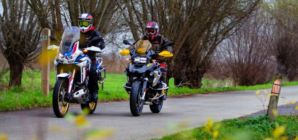 BMW R 1250 GS vs. Honda CRF 1100L Africa Twin AS