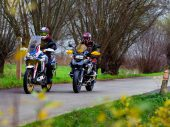 BMW R 1250 GS vs. Honda CRF 1100L Africa Twin AS -Dubbeltest