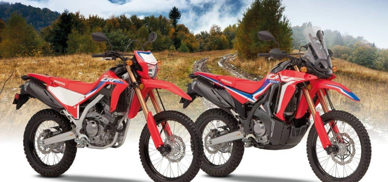 2021 HOnda CRF300L en 2021 Honda CRF300 RALLY