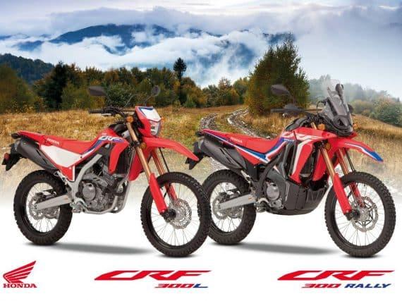 2021 Honda CRF300L en Honda CRF300 Rally