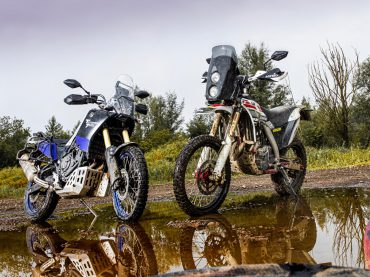 Dubbeltest: AJP PR7 vs. Yamaha Ténéré 700