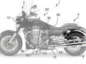 Piaggio dient octrooi in voor courtesy lights op motorfietsen