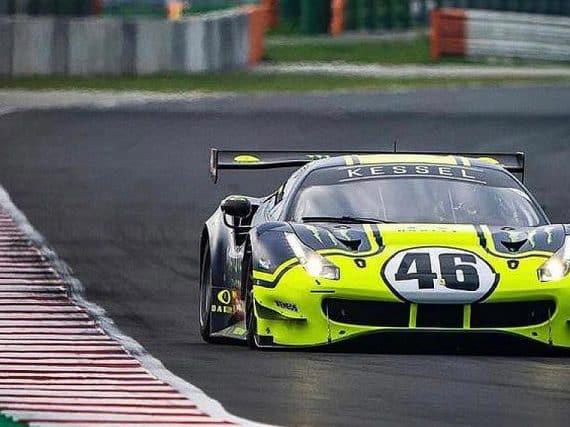 Rossi en Marini op Misano met de Ferrari 488 GT3