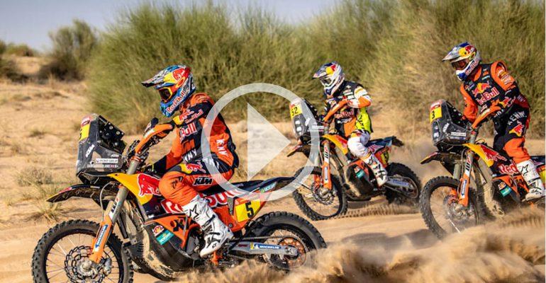 Dakar 2021: de KTM-rijders zijn er klaar voor (VIDEO)