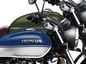 Lanceert Honda naast CB350 Caféracer een Scrambler?