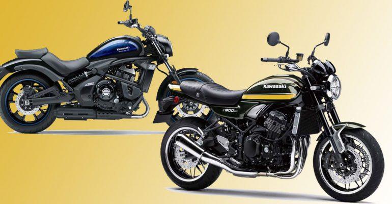 De prijzen van de 2021 Kawasaki Z900RS en Vulcan S zijn bekend!