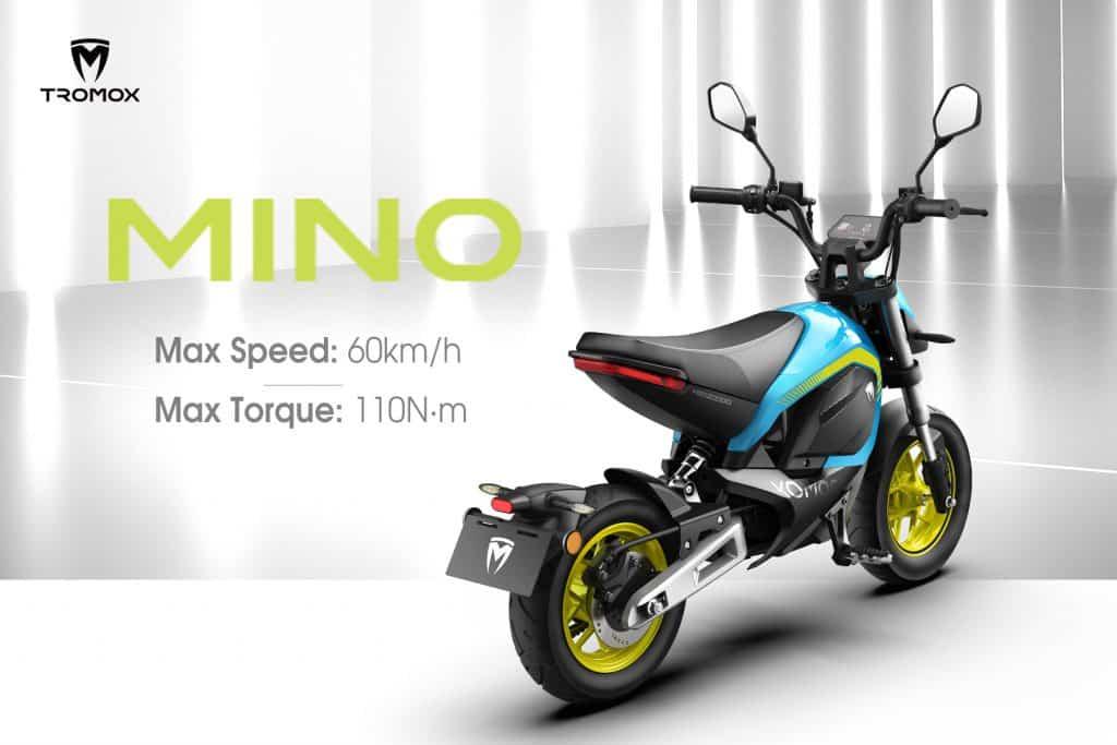 Chinese mini-motor Tromox