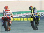 Valentino Rossi en Marc Márquez: de onderlinge strijd in 4 afleveringen