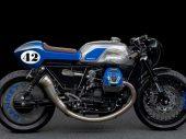 Moto Guzzi V9 Rhapsody in Blue: caféracer van Arctos