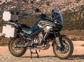 De 'KTM' CFMoto MT800 is definitief klaar