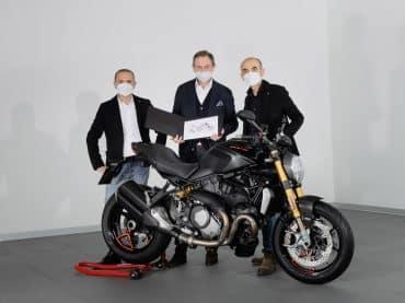 Mijlpaal: 350.000ste Ducati Monster geproduceerd