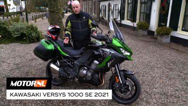 2021 Kawasaki Versys 1000 SE met Showa Skyhook – test
