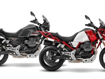 2021 Moto Guzzi V85 TT & V9 bijgewerkt