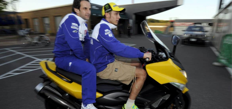 Davide Brivio en Valentino Rossi