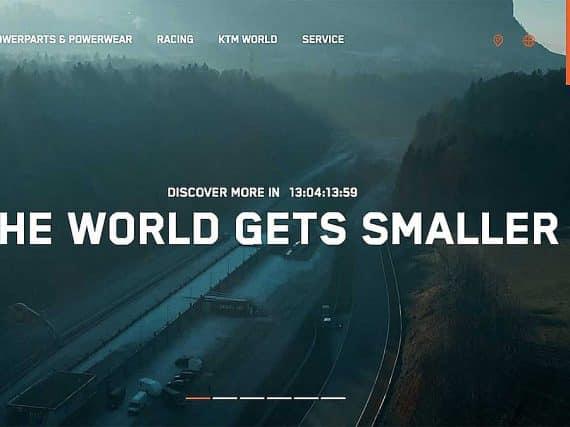 KTM hitst motorrijders op met nieuwe motor