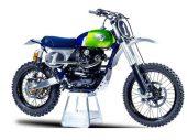 Kawasaki W800 Cross: fijne special van MRS Oficina