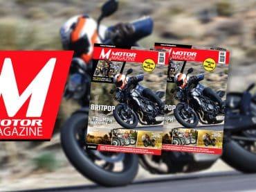 Vanaf vandaag ligt Motor Magazine in de Vlaamse boekhandels!