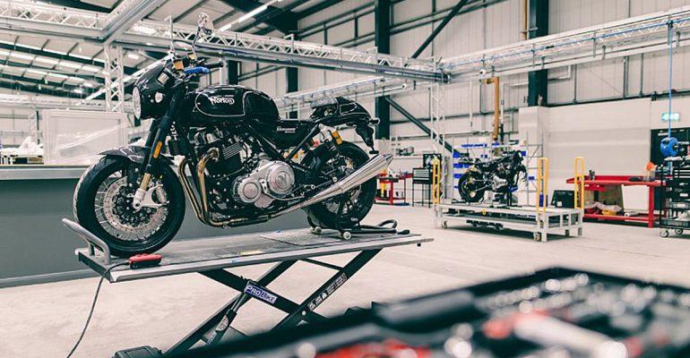 Nieuw hoofdkwartier voor Norton Motorcycles