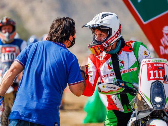 Motorrijder Pierre Cherpin overleden na val in Dakar Rally