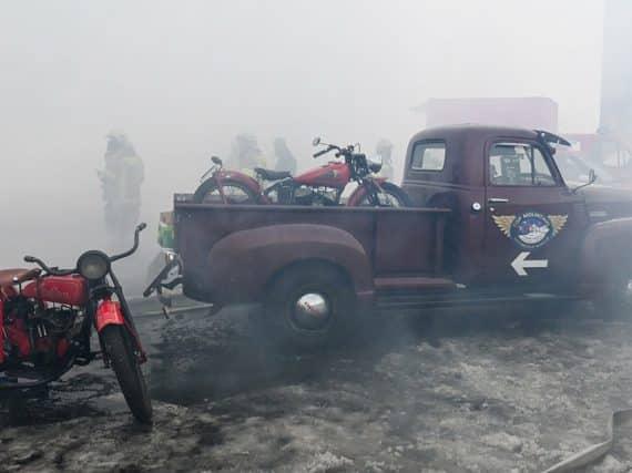 Motormuseum Timmelsjoch: een dag na de brand (video)