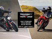 Triumph Triple Days bij de dealers