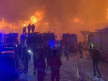 Motormuseum Timmelsjoch in de brand