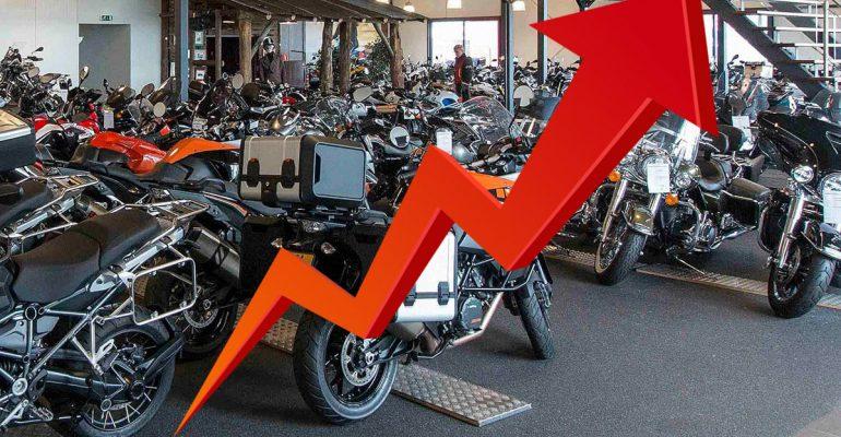 Motorverkopen 2020: BMW, Yamaha en Kawasaki grote winnaars