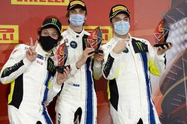 Valentino Rossi, Marini en Uccio vierde in Gulf 12 Hours