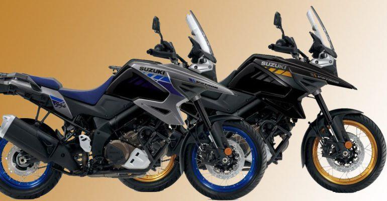 Twee nieuwe kleuren voor 2021 Suzuki V-Strom 1050 XT