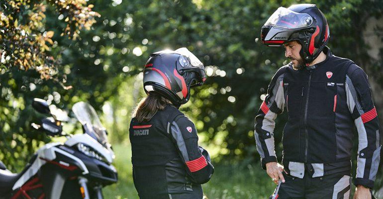 Ducati Smart Jacket, het airbagvest voor Ducati-rijders