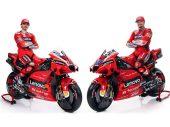 De Ducati Desmosedici GP21 van Jack Miller en Pecco Bagnaia