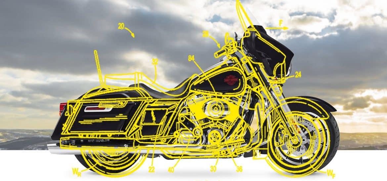 Harley-Davidson supercharged motor