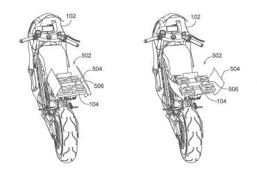 Honda patenteert motorfiets met geïntegreerde drone