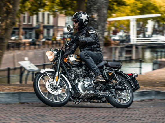 Laatste test Royal Enfield Classic Chrome 500