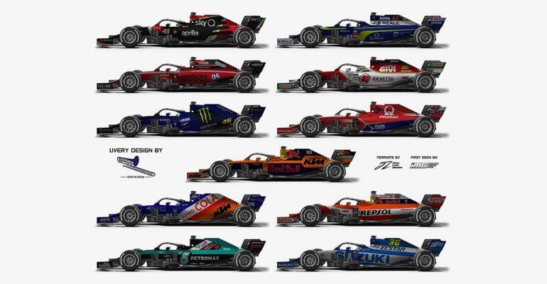 Wat als… een MotoGP-team in de Formule 1 rijdt