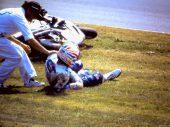 De beruchte crash van Mick Doohan op Assen in beeld