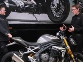 2021 Triumph Speed Triple RS: ontwerper aan het woord