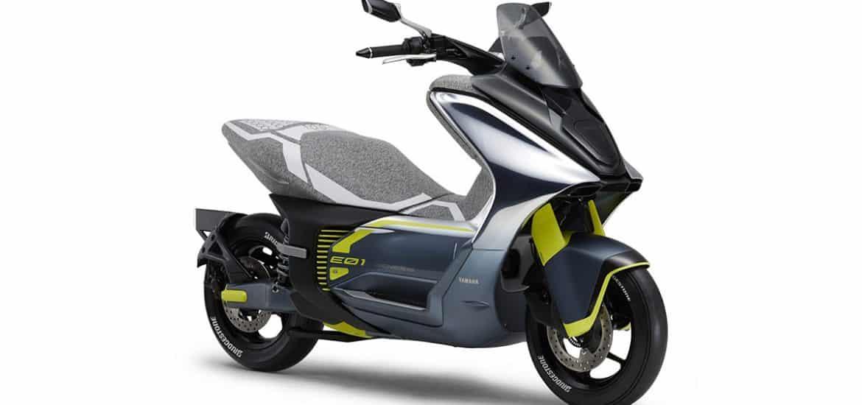 Elektrische scooters van Yamaha