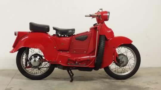 Moto Guzzi Galletto 1950