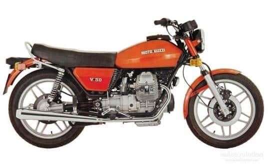 Moto Guzzi V35/50 1978