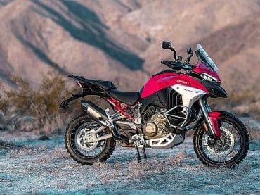 Komt Ducati met Multistrada met enkelzijdige swingarm?