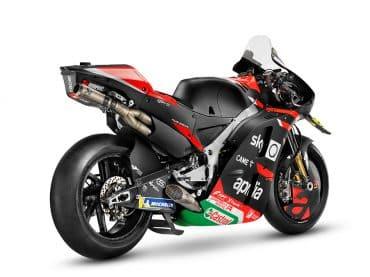 Dit is de gloednieuwe 2021 Aprilia RS-GP